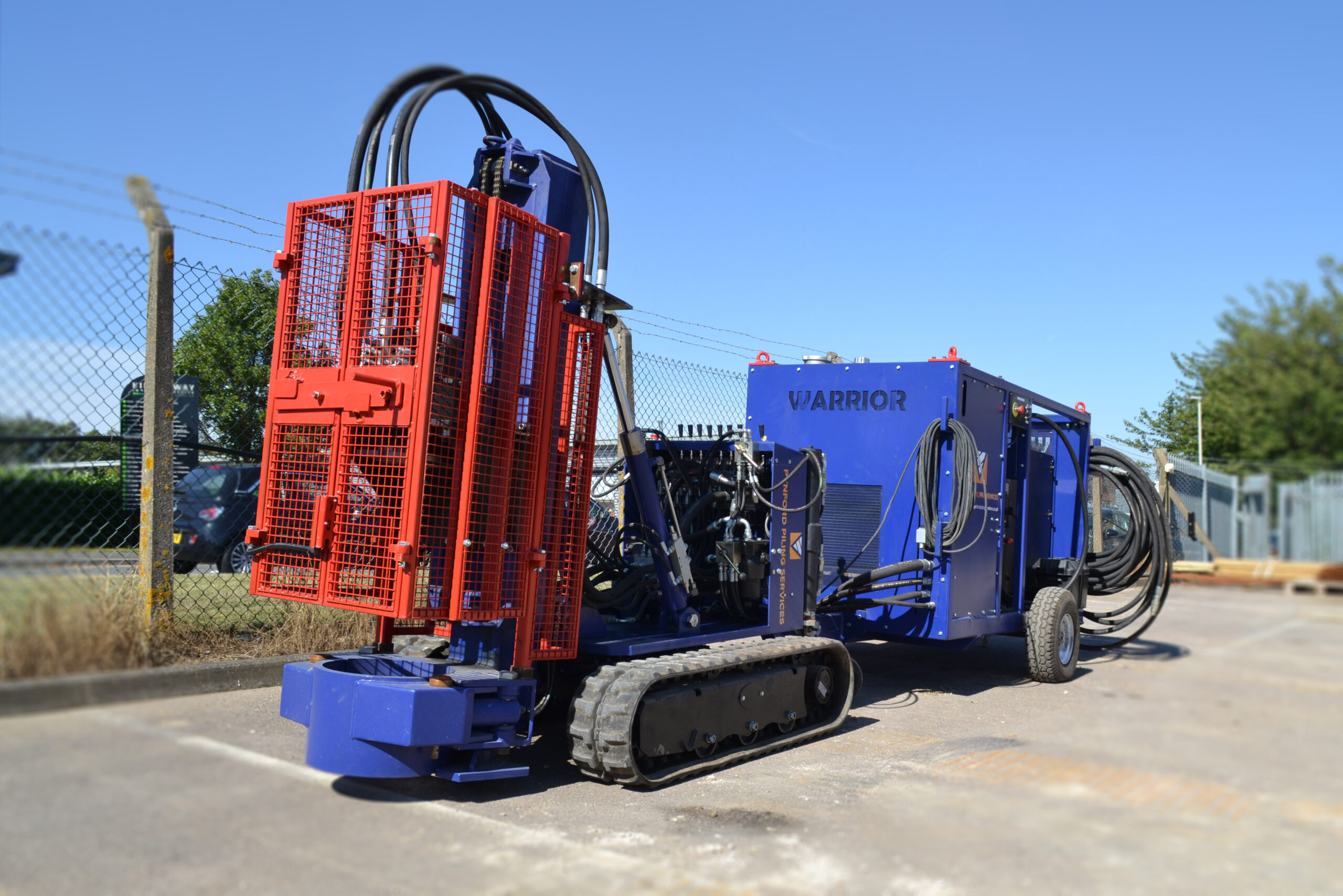 New – The best mini piling rig on the market